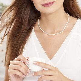 Collier Alceste Or Jaune Perle De Culture - Bijoux Femme   Histoire d'Or