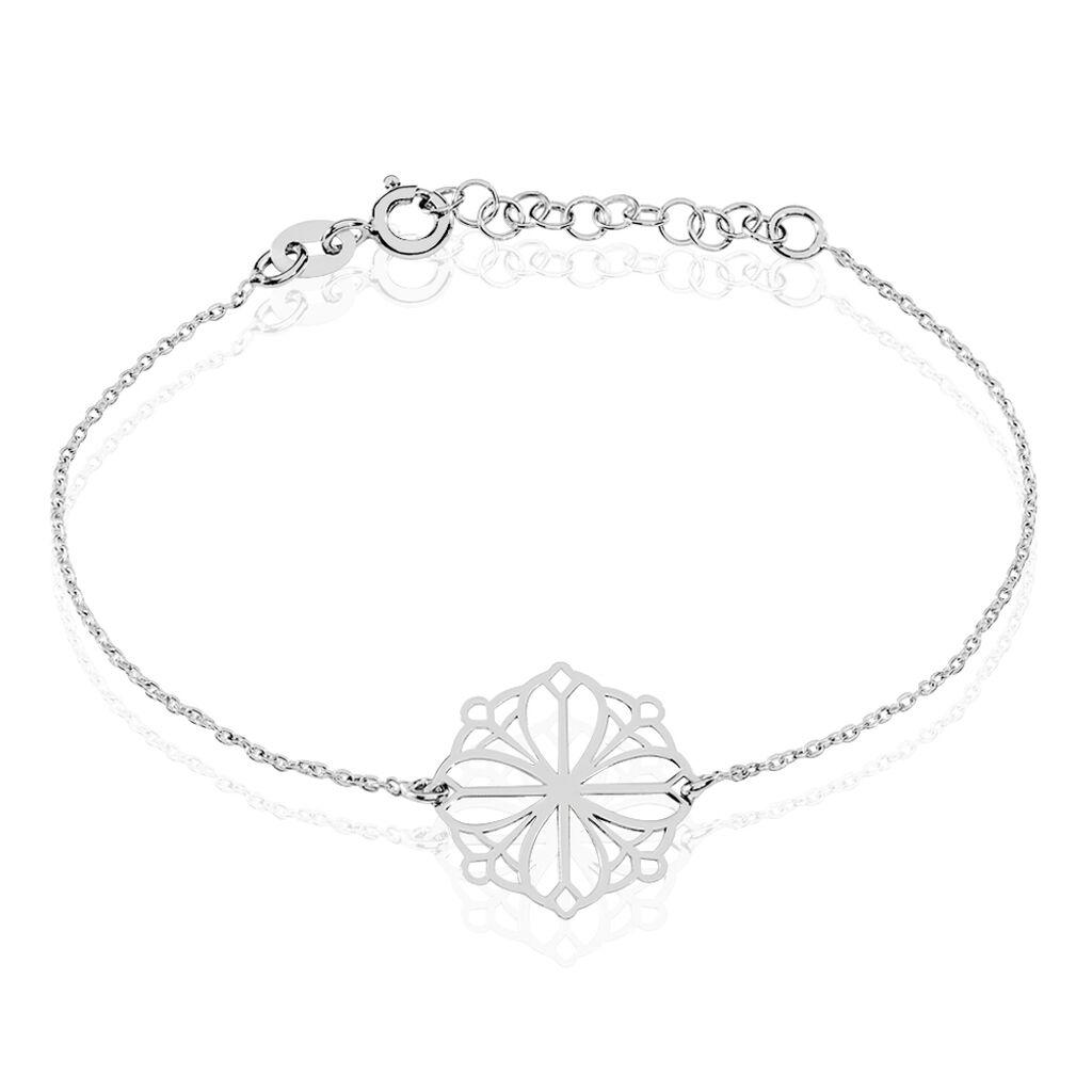 Bracelet Laetiti Argent Blanc - Bracelets fantaisie Femme | Histoire d'Or