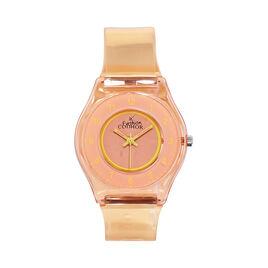 Montre Codhor Fashion Orange - Montres classiques Femme   Histoire d'Or