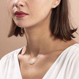 Collier Alexine Or Jaune Oxyde De Zirconium - Bijoux Femme | Histoire d'Or