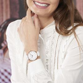 Montre Cluse Boho Chic Blanc - Montres tendances Femme | Histoire d'Or