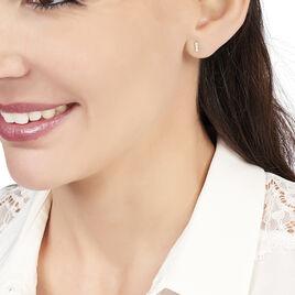 Boucles D'oreilles Puces Or Jaune  - Clous d'oreilles Femme | Histoire d'Or
