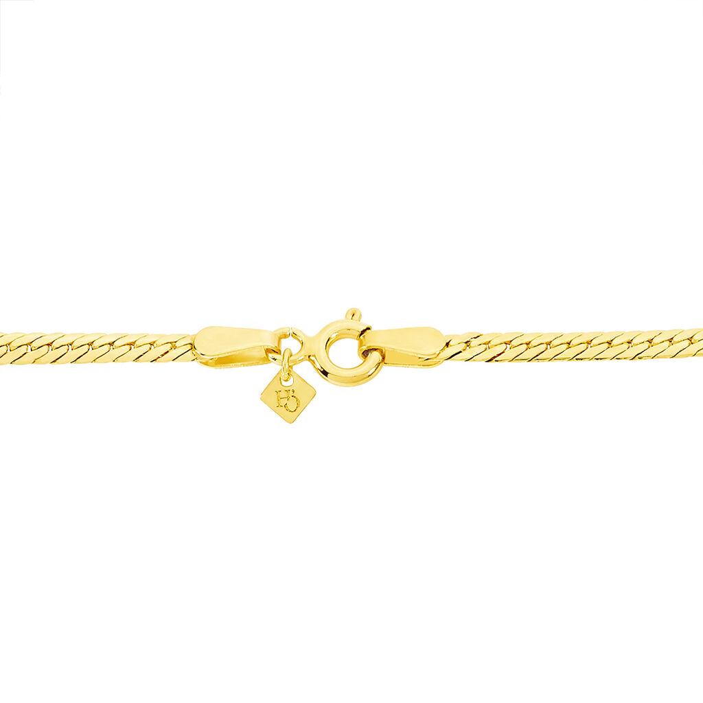 Bracelet Lysette Or Jaune - Bracelets Naissance Enfant   Histoire d'Or