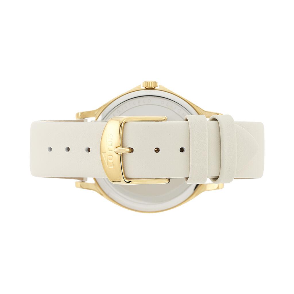 Montre Lotus Trendy Blanc - Montres classiques Femme   Histoire d'Or