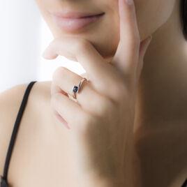Bague Camilia Or Blanc Emeraude - Bagues avec pierre Femme | Histoire d'Or