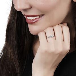 Bague Dream Or Blanc Diamant - Bagues avec pierre Femme | Histoire d'Or