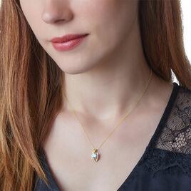 Collier Shawnee Or Jaune Topaze Et Diamant - Bijoux Femme | Histoire d'Or