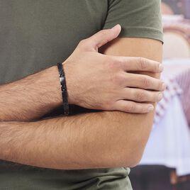 Bracelet Josua Acier Jaune - Bracelets fantaisie Homme | Histoire d'Or
