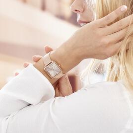 Montre Cluse La Tetragone Rose - Montres classiques Femme   Histoire d'Or