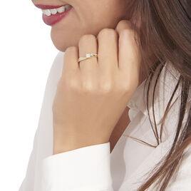 Bague Callysta Or Jaune Diamant - Bagues avec pierre Femme | Histoire d'Or