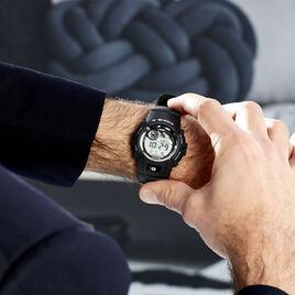 Montre Casio G-shock Black & White Gris - Montres sport Homme | Histoire d'Or