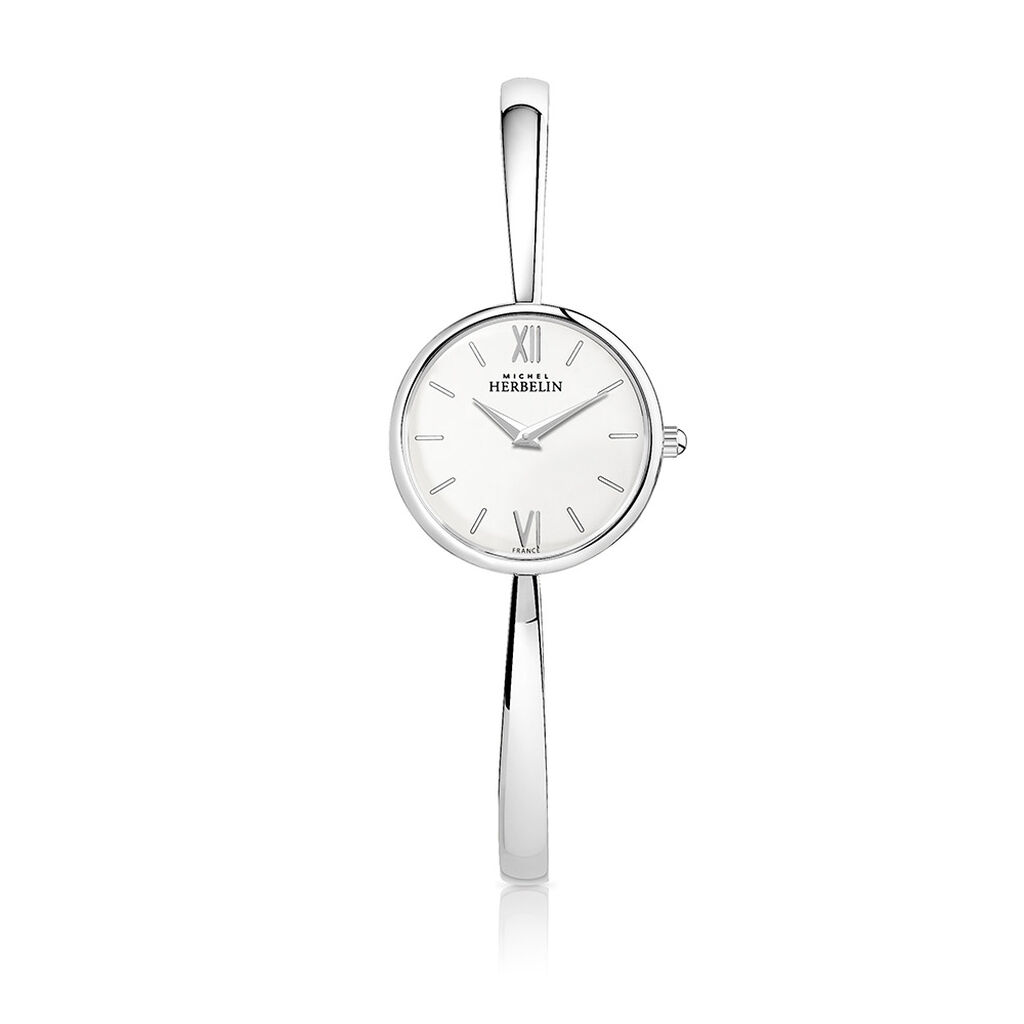 Montre Michel Herbelin Scandinave Blanc