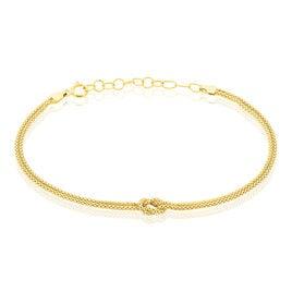 Bracelet Assil Or Jaune Nœud - Bijoux Femme   Histoire d'Or