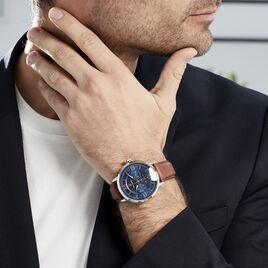 Montre Pierre Lannier Collection Beaucour Bleu - Montres Homme | Histoire d'Or