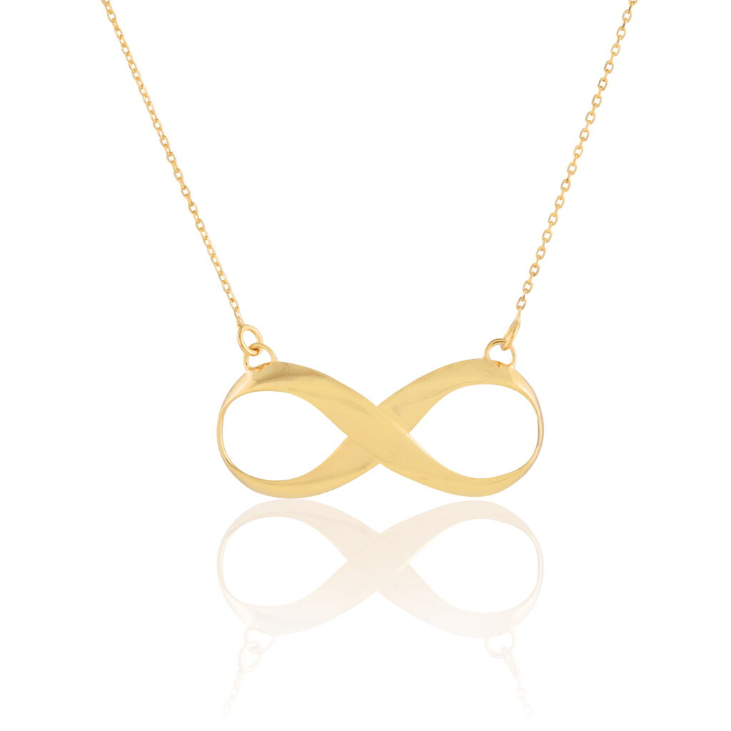 Collier Maryeme Infini Or Jaune - Colliers Infini Femme | Histoire d'Or