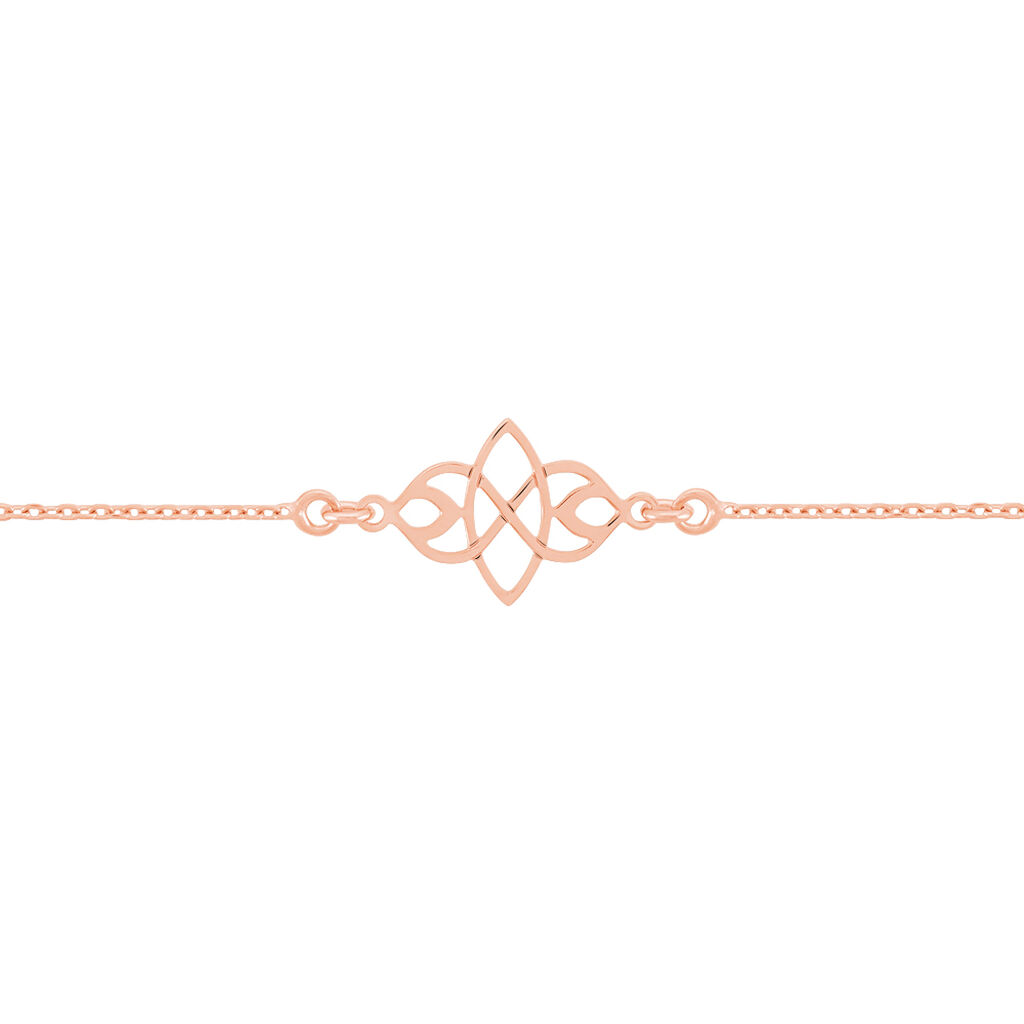 Bracelet Maharaja Argent Rose - Bracelets fantaisie Femme | Histoire d'Or