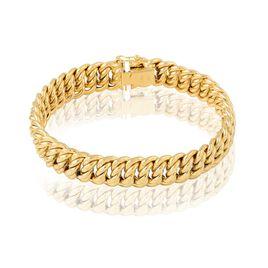 Bracelet Jimmy Maille Americaine Or Jaune - Bracelets chaîne Femme | Histoire d'Or