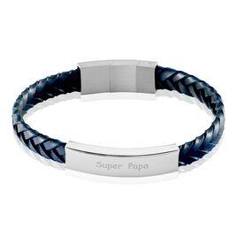 Bracelet Oxanne Acier Blanc - Bracelets fantaisie Homme   Histoire d'Or