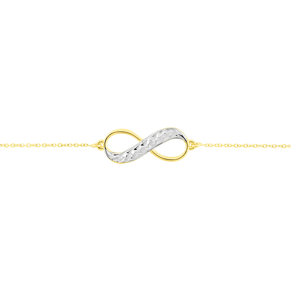 Bracelet Maryeme Infini Diamante Or Jaune - Bracelets Infini Femme   Histoire d'Or