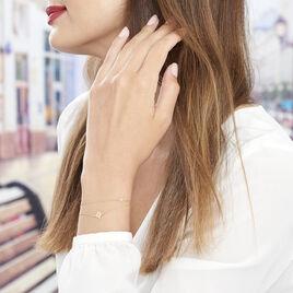 Bracelet Or Jaune Double Etoile Terrie - Bijoux Etoile Femme | Histoire d'Or