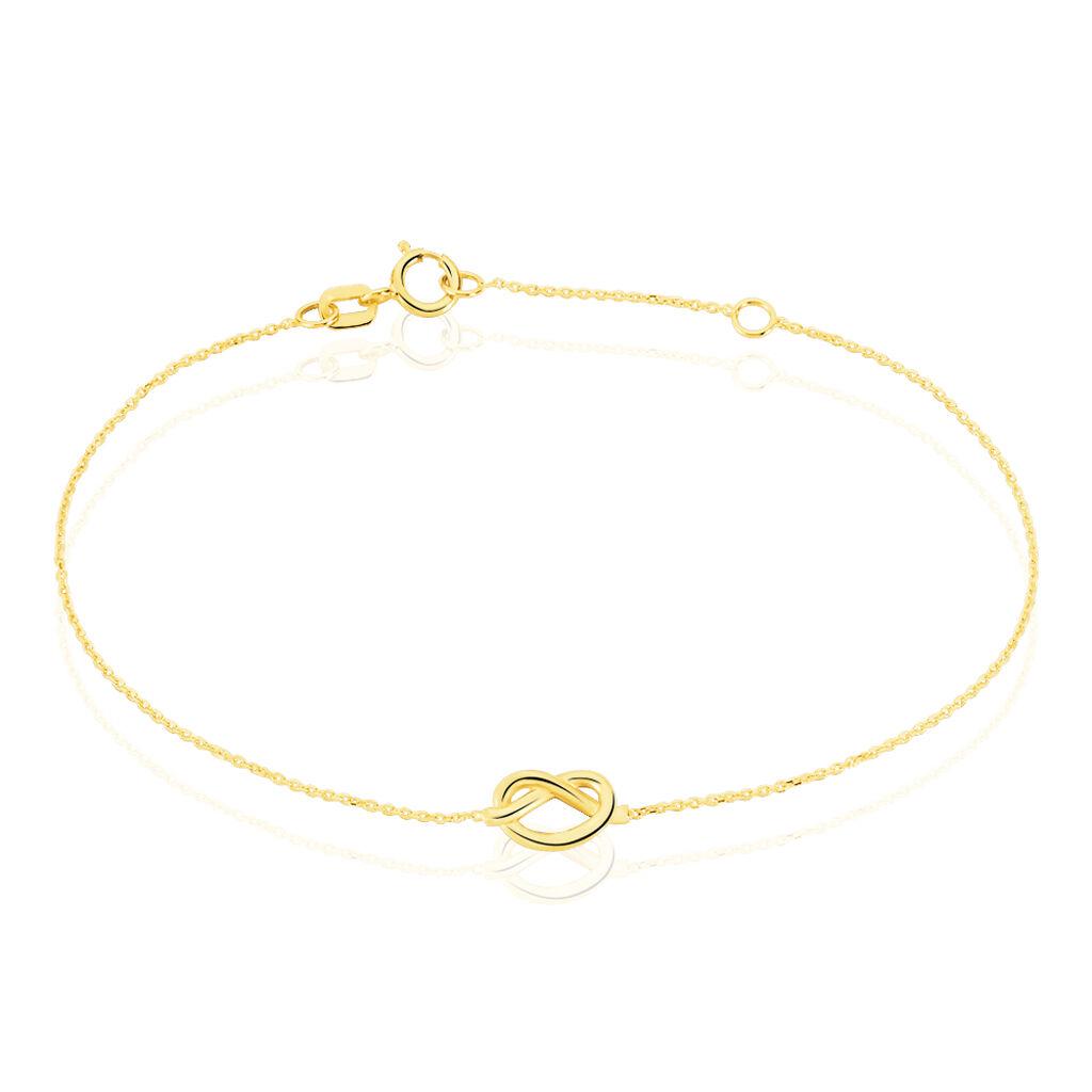 Bracelet Or Jaune Katarina - Bijoux Femme | Histoire d'Or