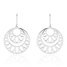 Boucles D'oreilles Pendantes Slorane Argent Blanc - Boucles d'oreilles fantaisie Femme | Histoire d'Or