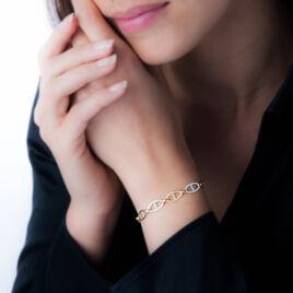 Bracelet Jaraae Or Bicolore - Bijoux Femme | Histoire d'Or