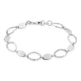Bracelet Paulita Argent Blanc - Bracelets fantaisie Femme | Histoire d'Or