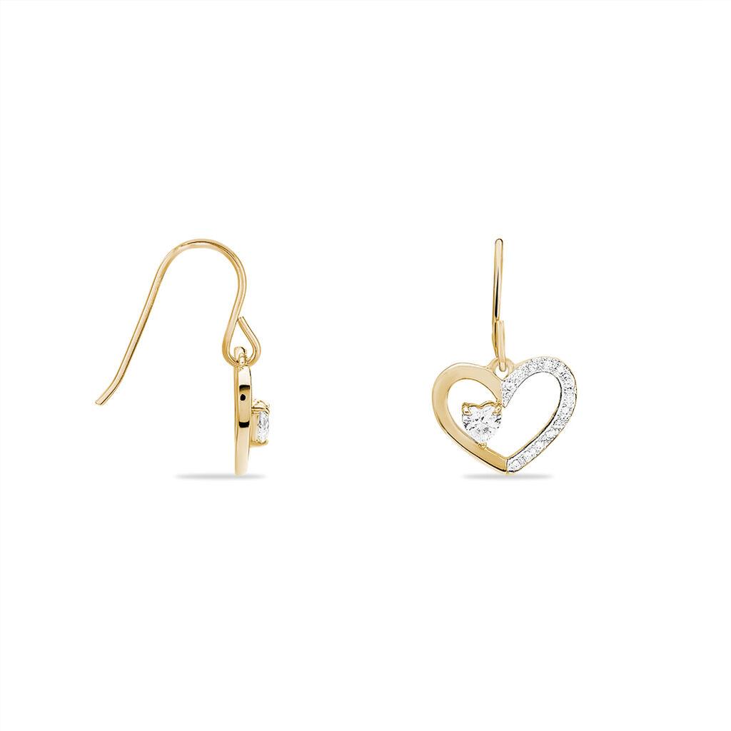 Boucles D'oreilles Plaqué Or - Boucles d'oreilles fantaisie Femme   Histoire d'Or