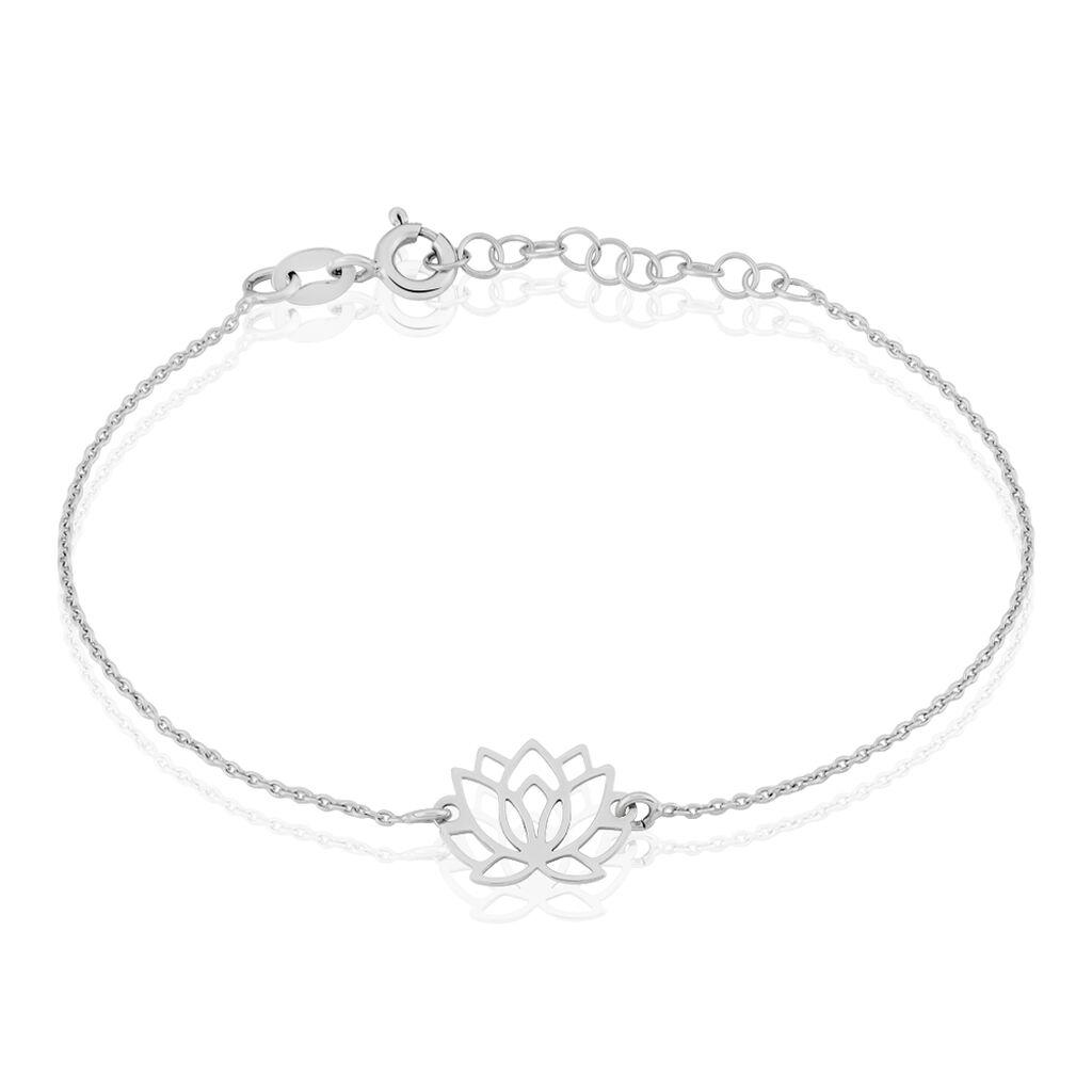 Bracelet Maylie Argent Blanc - Bracelets fantaisie Femme | Histoire d'Or
