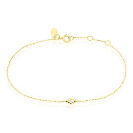 Bracelet Eirena Or Jaune Diamant - Bijoux Femme   Histoire d'Or