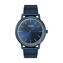 Montre Hugo Exist Bleu - Montres tendances Homme   Histoire d'Or