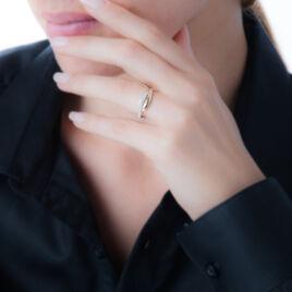 Bague Vero Or Jaune Oxyde De Zirconium - Bagues avec pierre Femme   Histoire d'Or