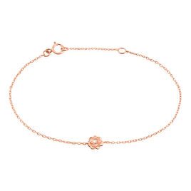 Bracelet Jannea Argent Rose Oxyde De Zirconium - Bracelets fantaisie Femme   Histoire d'Or