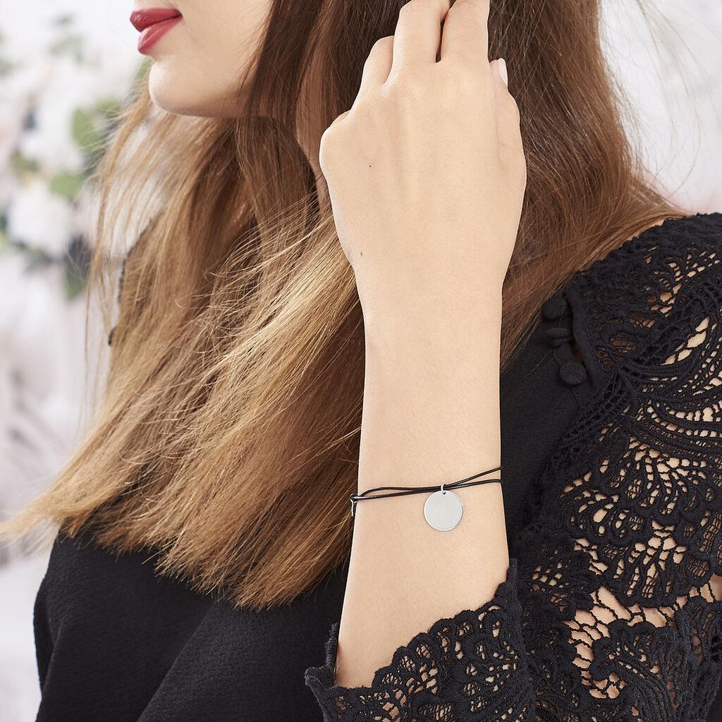 Bracelet Paula Argent Blanc - Bracelets cordon Femme | Histoire d'Or
