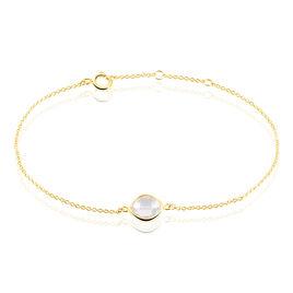 Bracelet Or Jaune Quartz - Bijoux Femme | Histoire d'Or