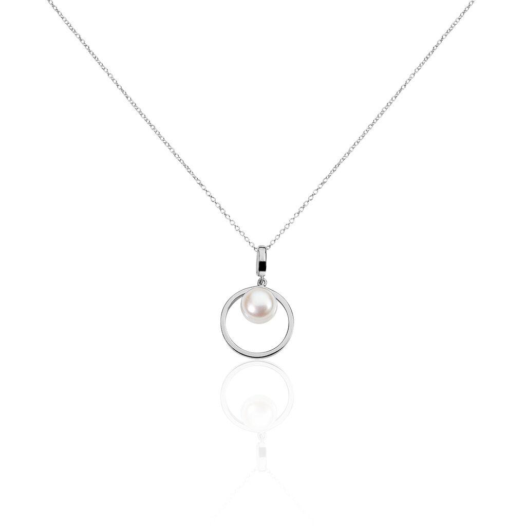 Collier Ivana Argent Blanc Perle De Culture - Colliers fantaisie Femme | Histoire d'Or