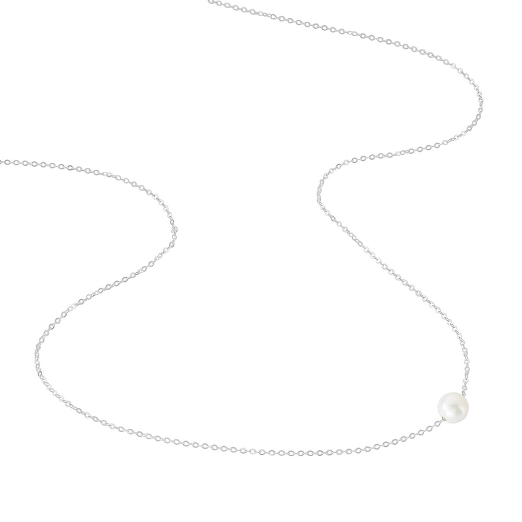 Collier Sissy Or Blanc Perle De Culture