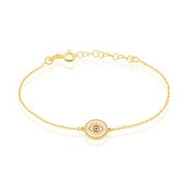 Bracelet Olia Argent Jaune - Bracelets fantaisie Femme | Histoire d'Or