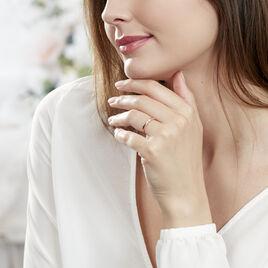 Bague Lou Or Rose Diamant - Bagues solitaires Femme | Histoire d'Or