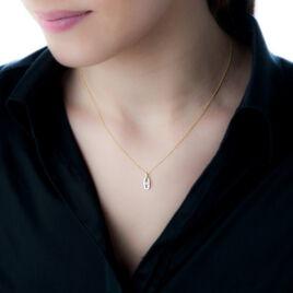 Collier Or Bicolore Diamant - Bijoux Femme | Histoire d'Or