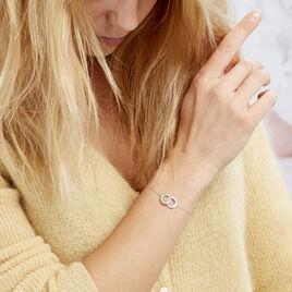 Bracelet Anne Argent Blanc Oxyde De Zirconium - Bracelets fantaisie Femme | Histoire d'Or