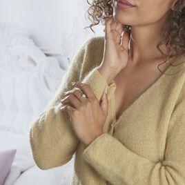 Bague Hannia Argent Blanc Perle D'imitation - Bagues avec pierre Femme | Histoire d'Or