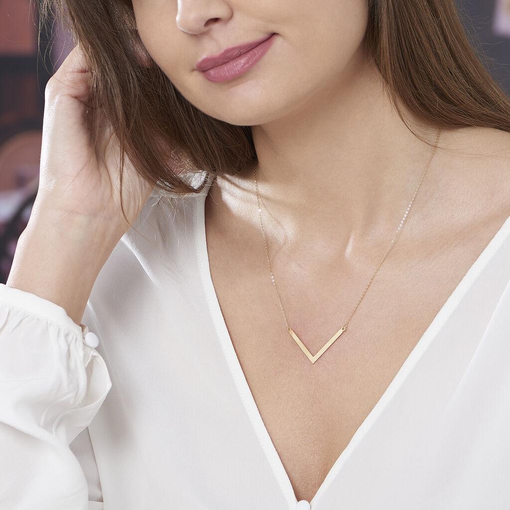 Collier Ella Or Jaune - Bijoux Femme   Histoire d'Or