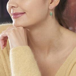 Boucles D'oreilles Plaque Or Veina - Boucles d'oreilles fantaisie Femme | Histoire d'Or