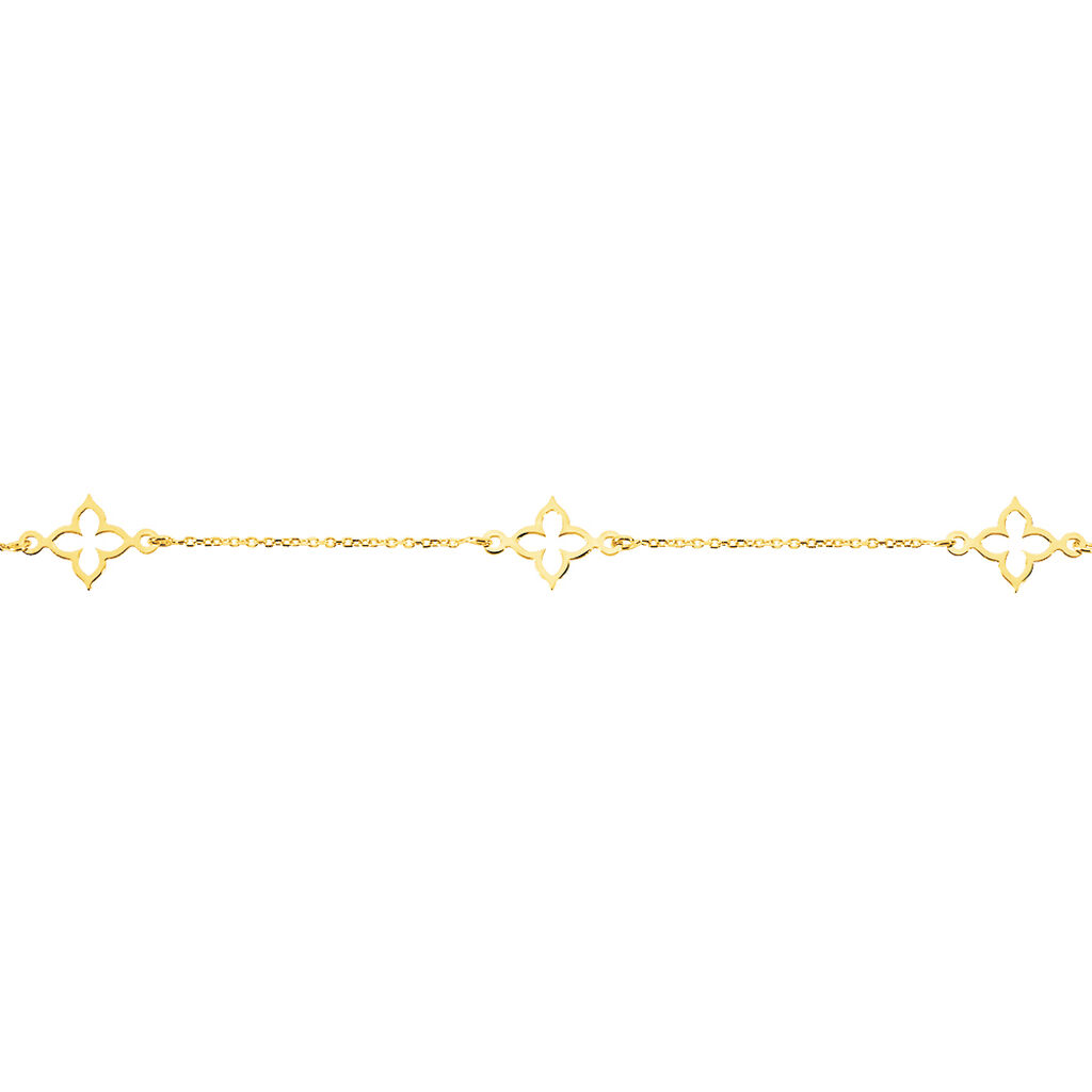 Bracelet Kalia Or Jaune - Bracelets Trèfle Femme   Histoire d'Or