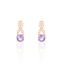 Boucles D'oreilles Puces Berenice - Boucles d'oreilles pendantes Femme | Histoire d'Or