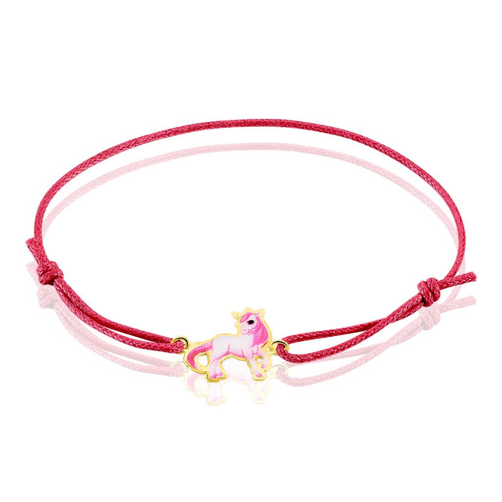 Bracelet Fantasila Cheval Or Jaune - Bracelets Naissance Enfant | Histoire d'Or