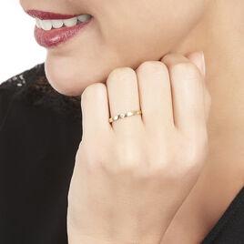 Bague Solitaire Anilie Or Jaune Diamant - Bagues solitaires Femme | Histoire d'Or