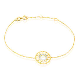 Bracelet Thallya Or Jaune Oxyde De Zirconium - Bijoux Femme | Histoire d'Or